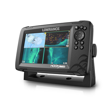 Lowrance HOOK Reveal 7 with US Inland Lakes and TripleShot Transducer