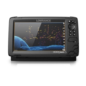 Lowrance HOOK Reveal 9 with Nav+ and Tripleshot Transducer