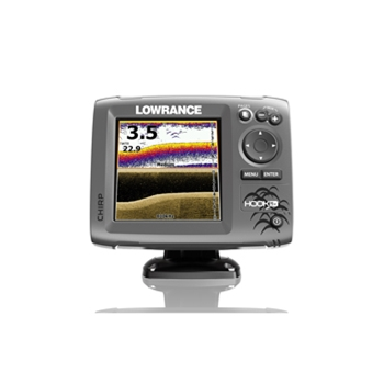 Lowrance Hook 5x Fishfinder with Mid/High/DownScan Transducer