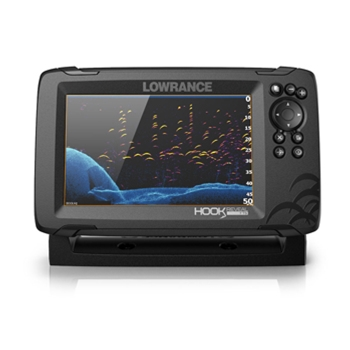 Lowrance HOOK Reveal 7 TripleShot with CMAP Contour+ Mapping