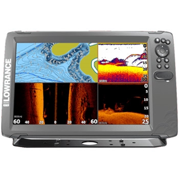 Lowrance HOOK2 12 TripleShot with US Lake Maps