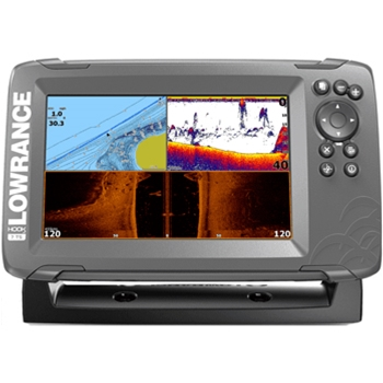 Lowrance HOOK2 7 TripleShot with Navionics+ Maps
