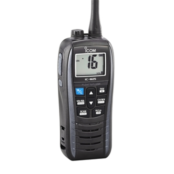 Icom M25 Floating 5W Handheld VHF Radio