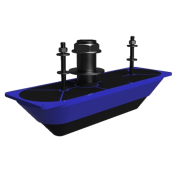 Navico StructureScan 3D Stainless Steel Thru-Hull Transducer