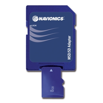 Navionics Platinum Plus XL3 900P+ - West Great Lakes on SD