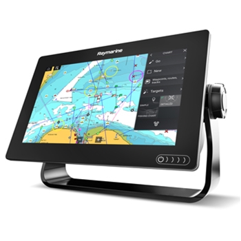 Raymarine Axiom 9RV with Navionics+ Mapping and RV-100 Transducer