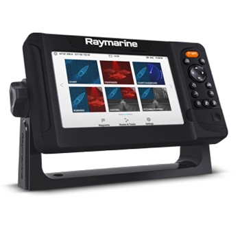 Raymarine Element 7HV with NAV+ Maps and HV100 Transducer
