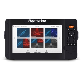 Raymarine Element 9HV with NAV+ Maps and HV100 Transducer