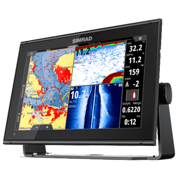 Simrad GO12 XSE with TotalScan and C-Map Insight Card
