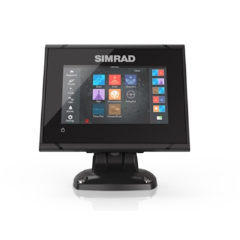 Simrad GO5 XSE with Med/High/DownScan Transducer