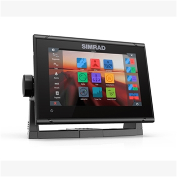 Simrad GO7 XSR with C-Map Pro Charts and HDI Transducer