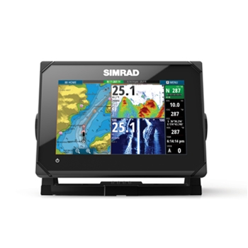 Simrad GO7 XSE with Insight Mapping and  Med/High/DownScan Transducer