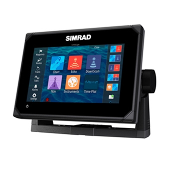 Simrad go7 xse with insight mapping without transducer the for Simrad fish finder