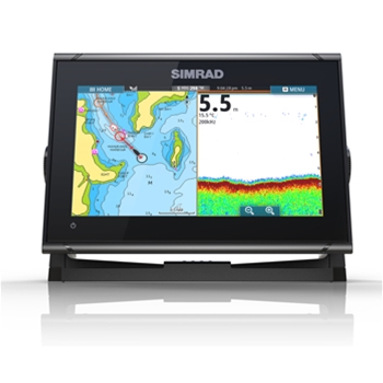 Simrad GO9 XSE With TotalScan Transducer and C-Map