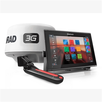Simrad GO12 XSE With TotalScan Transducer And 3G Radar Bundle