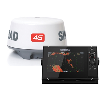 Simrad NSS7 Evo3 Chartplotter Fishfinder with 4G Radar Bundle