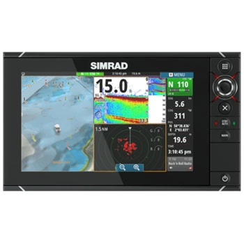 Simrad NSS9 Evo2 Chartplotter Fishfinder MFD P3994 on gps receiver tracking sensitivity