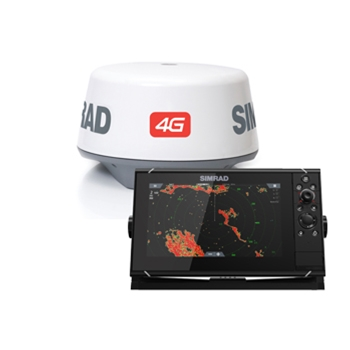 simrad nss9 evo3 chartplotter fishfinder with 4g radar bundle the, Fish Finder
