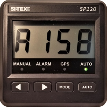 Si-Tex SP120 Autopilot with Virtual Feedback