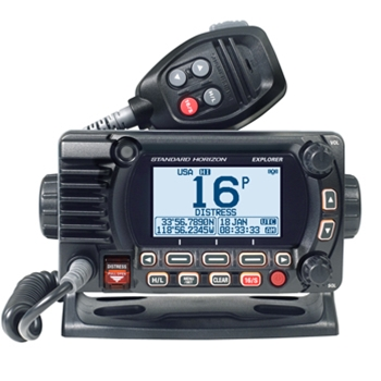Standard Horizon GX1800G Explorer VHF with GPS Black