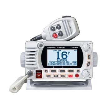 Standard Horizon GX1800GW White 25W VHF//GPS//Second Station Explorer Series
