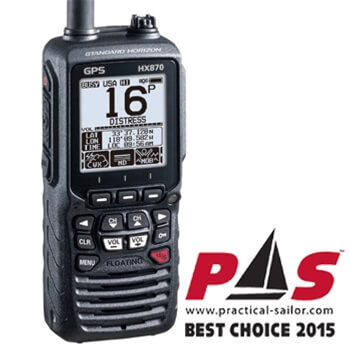 Standard Horizon HX870 Handheld VHF with GPS