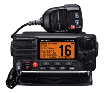 Standard Horizon Matrix GX2000 VHF Radio - Black