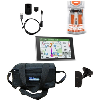 Garmin DriveLuxe 51 LMT-S Refurbished Value Bundle