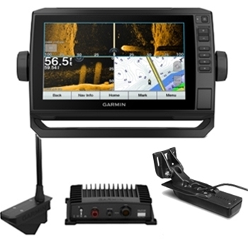 Garmin ECHOMAP UHD 93sv with Transducer and LiveScope Bundle