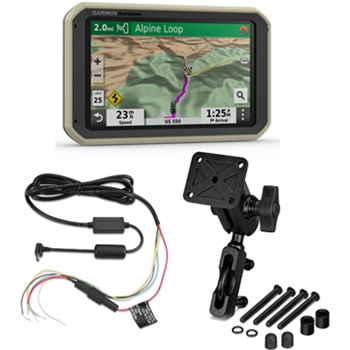 Garmin Overlander with Mounting Kit and 12v Bundle