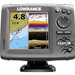 Lowrance Hook 5 with Nautic Insight and Mid/High/DownScan