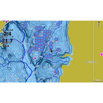 Lowrance HOOK2 5 SplitShot with Navionics+ Maps