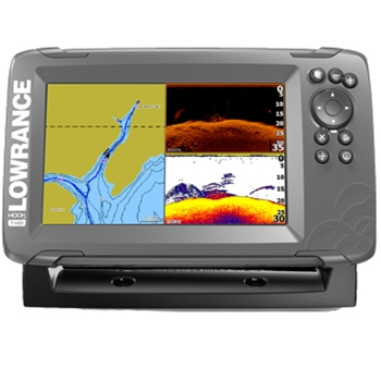Lowrance HOOK2 7 SplitShot with Navionics+ Maps