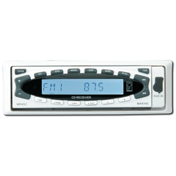poly planar mr45c am fm cd and mp3 marine stereo the gps store poly planar mr45c am fm cd and mp3 marine stereo