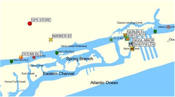 Profinder Intercoastal Waterway Facility Guide for NC, SC and GA
