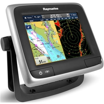 Raymarine a67 GPS/Fishfinder with Wi-Fi and US LNC Charts