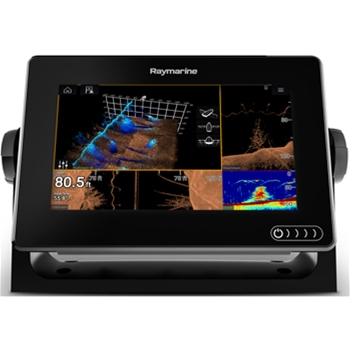 Raymarine Axiom 7RV with Navionics+ and RealVision Transducer