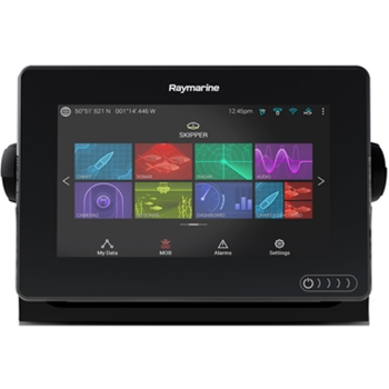 Raymarine Axiom 7DV with Navionics+ and DownVision Transducer