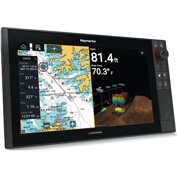 Raymarine Axiom Pro 16 RVX with Lighthouse Mapping