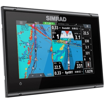 Simrad GO7 XSR with TotalScan Transducer and Navionics+