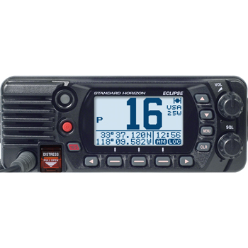 Standard Horizon GX1400 Eclipse VHF Radio – Black