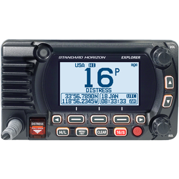 Standard Horizon GX1850G Explorer VHF with GPS Black