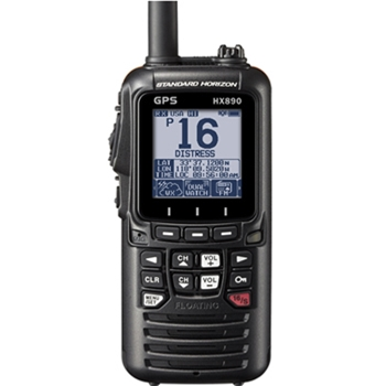 Standard Horizon HX890 Handheld VHF with GPS Black