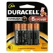 4 Pack AA Duracell Batteries