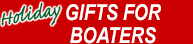 Holiday Gifts for Your Boater