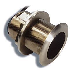Sitex B60 12 Bronze Low Profile Thru-hull Transducer with Temp