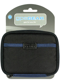 GPS Gear Nylon Zipper Case for Automotive GPS Units