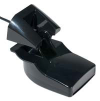 Garmin 8 Pin Transom Mount Transducer with Depth and Temp
