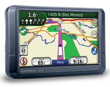 Garmin Nuvi 465T Truck and RV GPS System