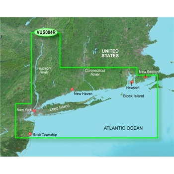 Garmin Bluechart G3 Vision New York Chart - VUS004R